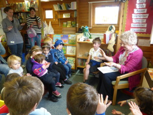 Monthly Visit from Logie Coldstone Toddler Group